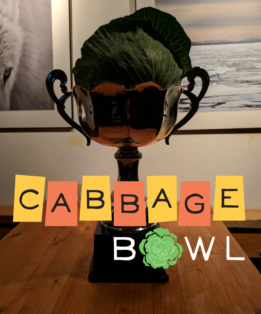 Cabbage Bowl Trophy