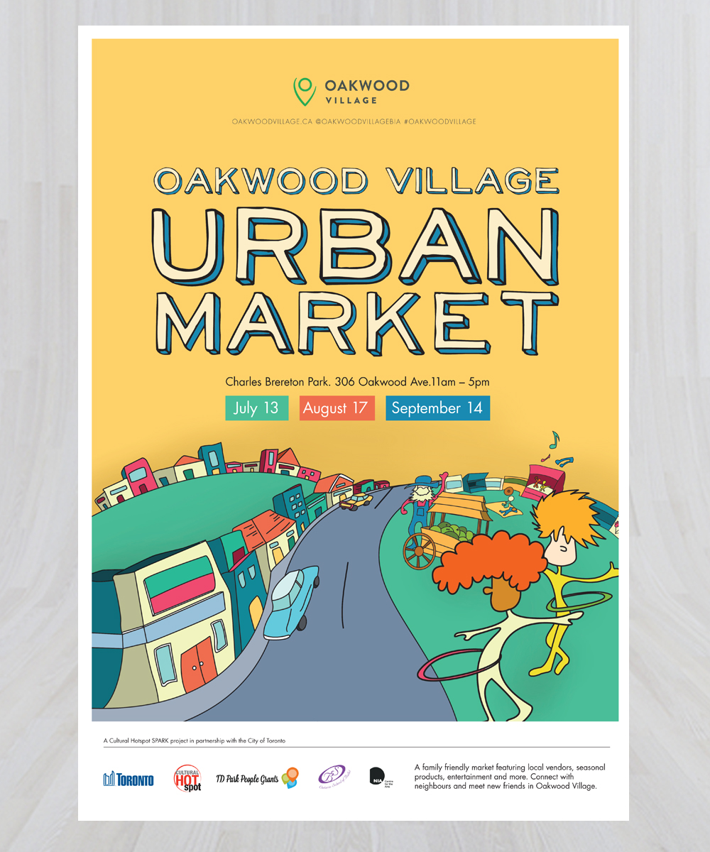 Urban Market Poster