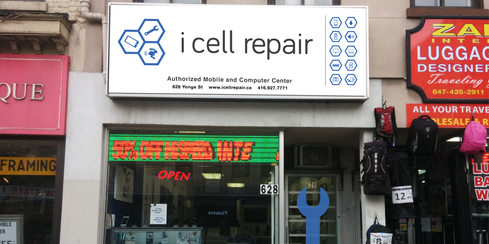 i Cell Repair store